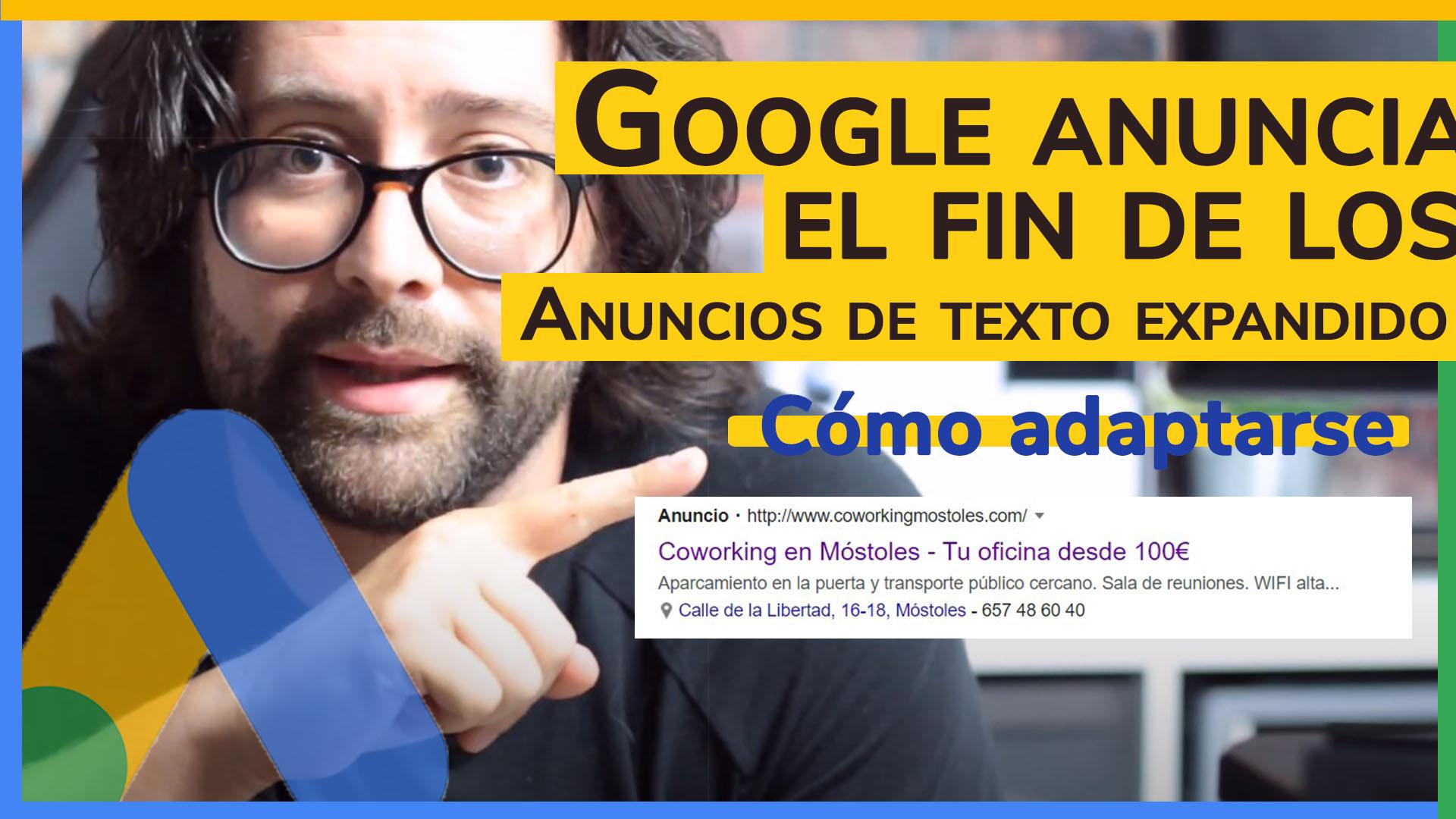 Desaparece texto expandido Google Ads